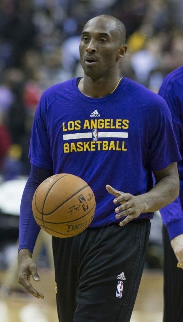 Kobe Bryant. Fuente: flcikr. Autor: Keith Allison