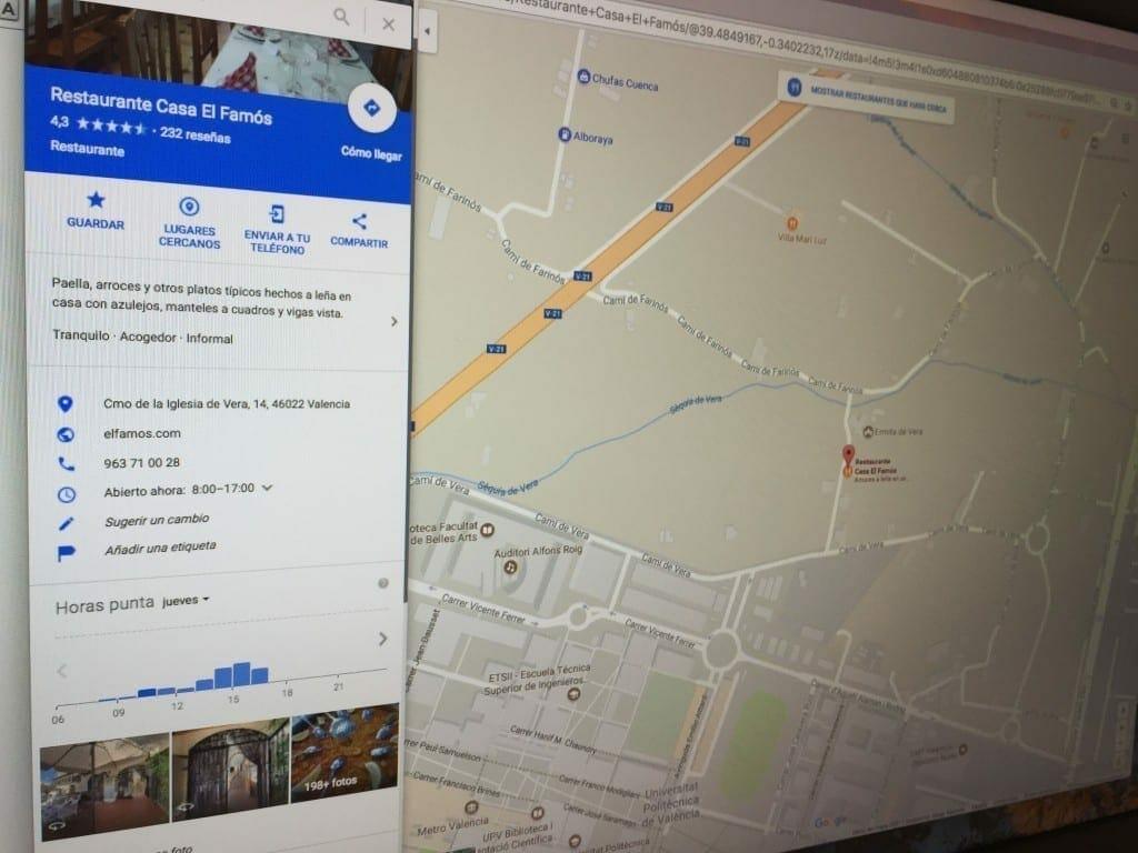 1510738711 Google My Business Tiempo espera restaurante