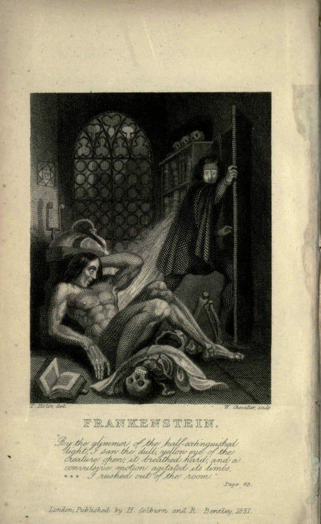 Frankenstein.1831.inside cover