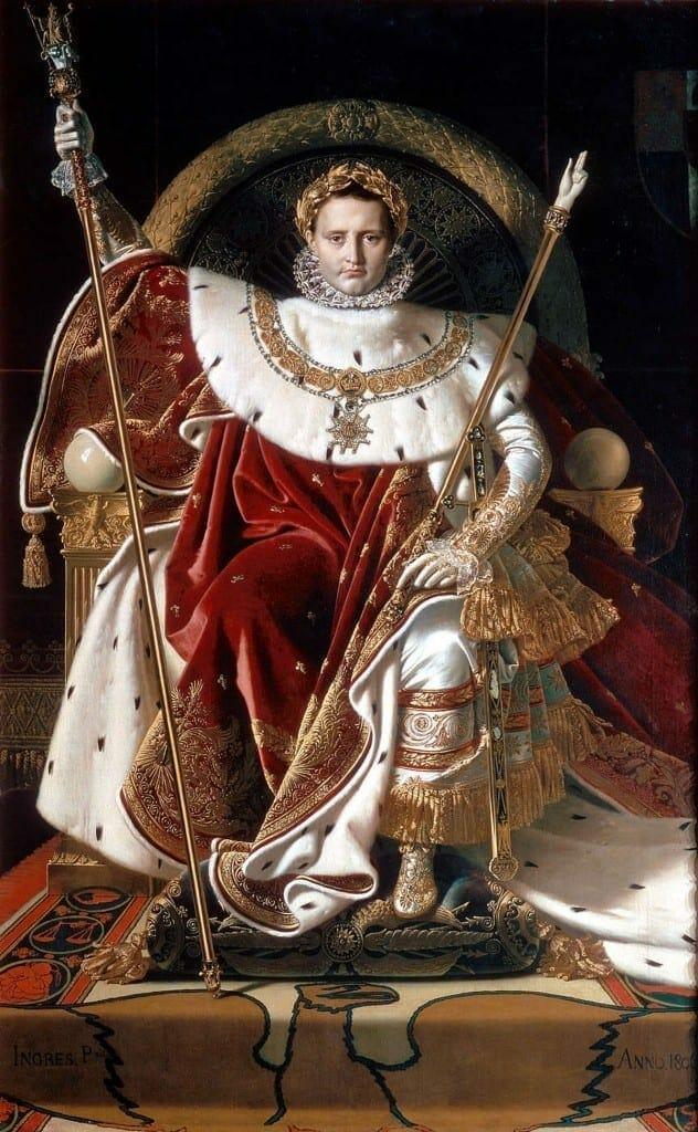 Ingres Napoleon on his Imperial throne