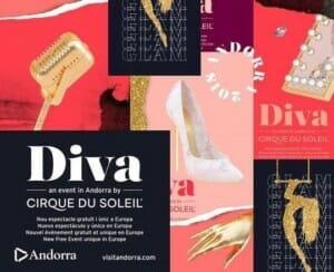 Nivoria desarrolla la promoción digital del espectáculo 'Diva' del Cirque du Soleil en Andorra