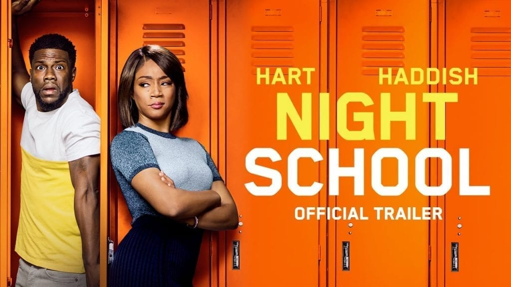 """Image from the movie """"Night School"""""""