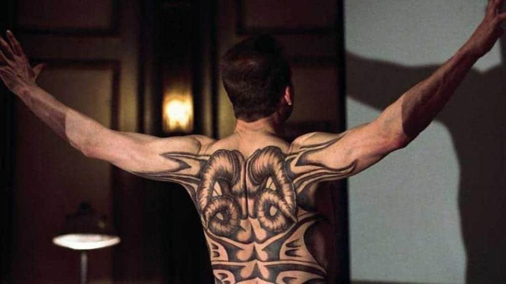 """Image from the movie """"El dragón rojo"""""""
