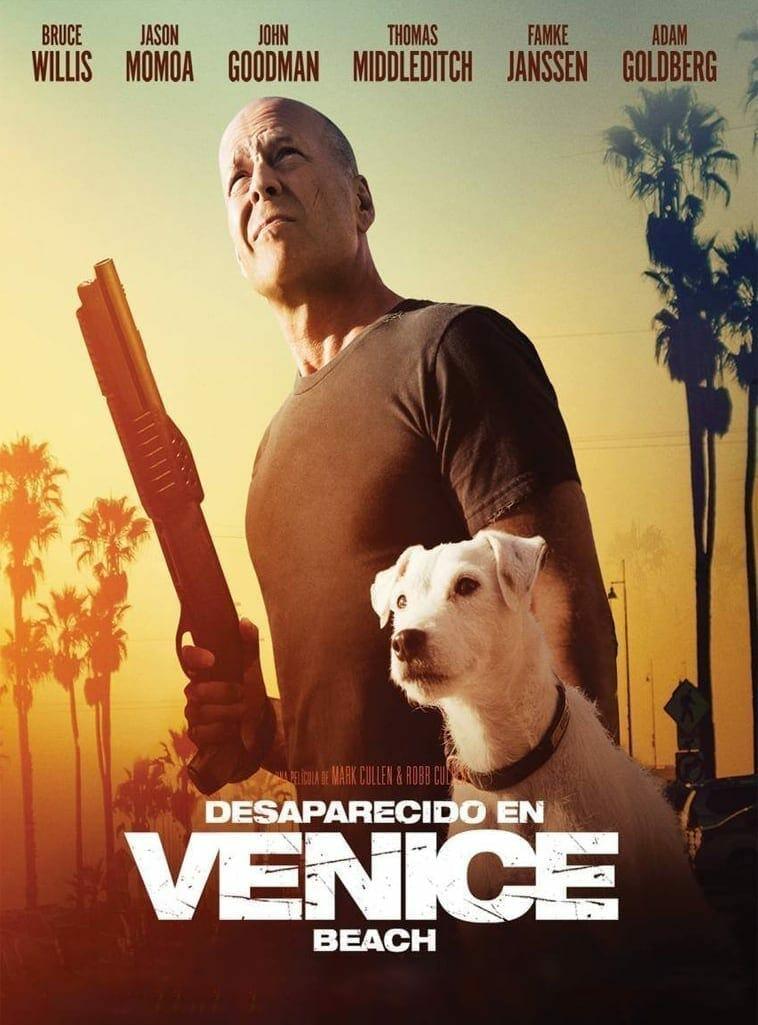 "Poster for the movie ""Desaparecido en Venice Beach"""