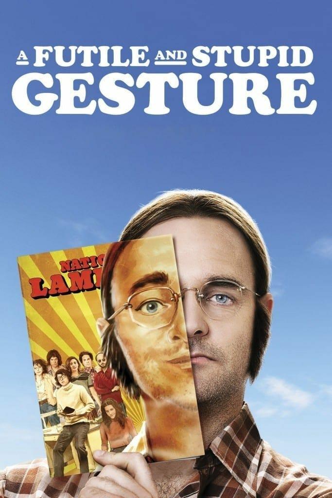 """Poster for the movie """"Un gesto estúpido e inútil"""""""