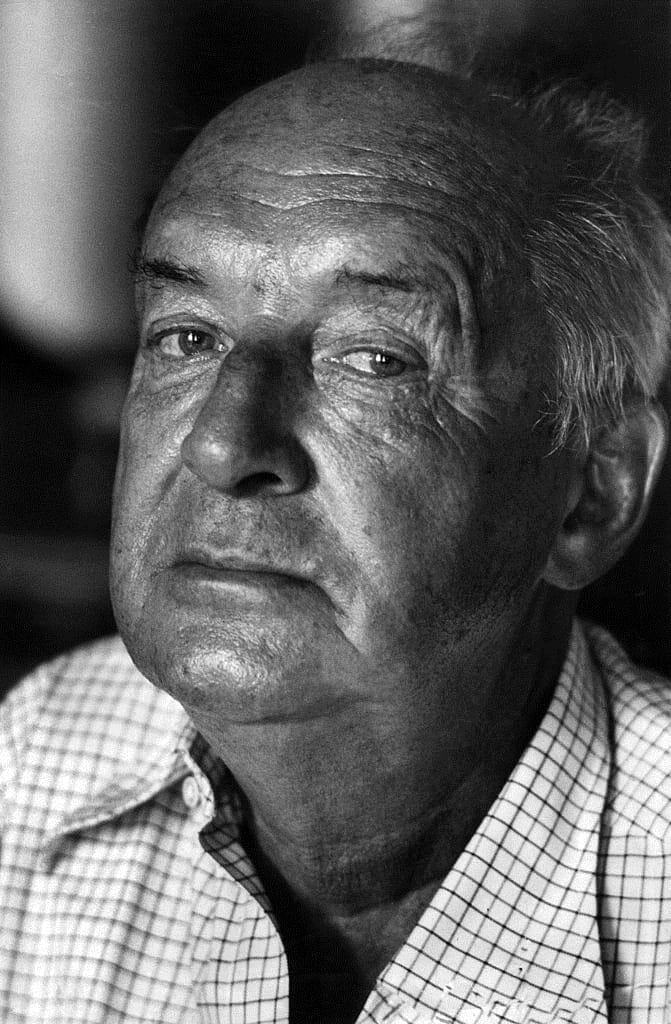 Vladimir Nabokov. Foto: Walter Mori (Mondadori Publishers)