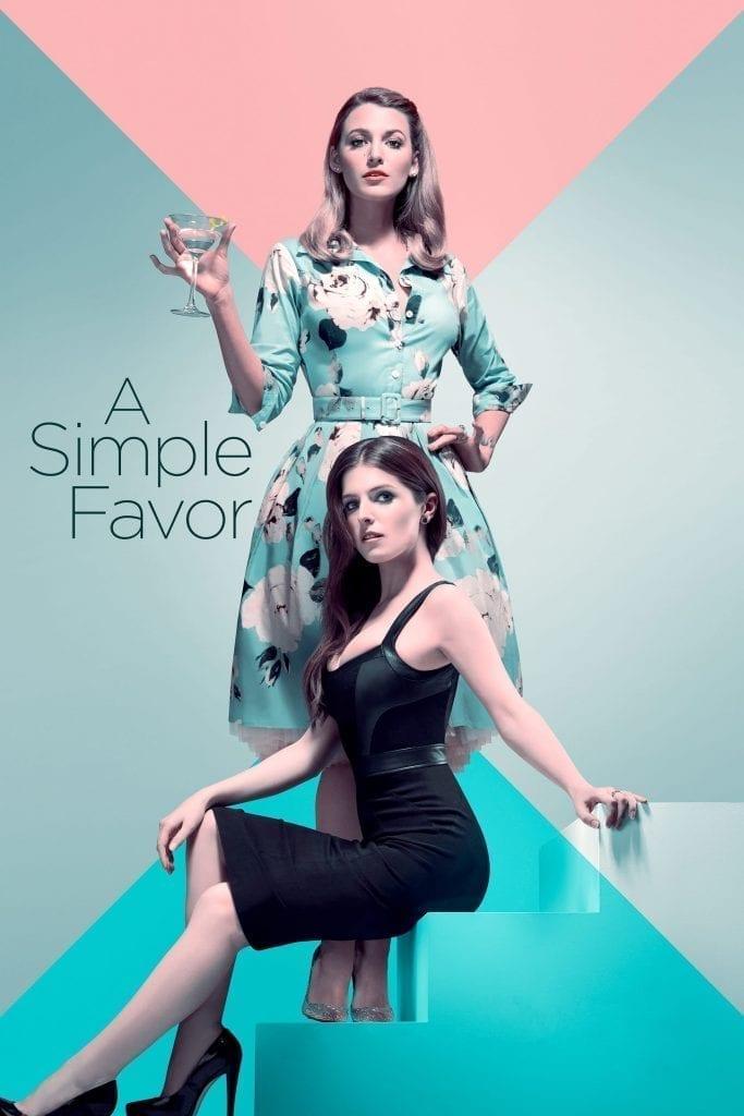 "Poster for the movie ""Un pequeño favor"""