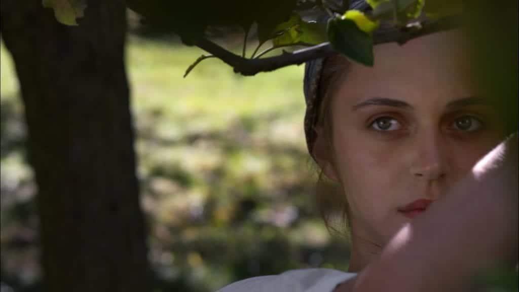"""Image from the movie """"La mujer que sabía leer"""""""