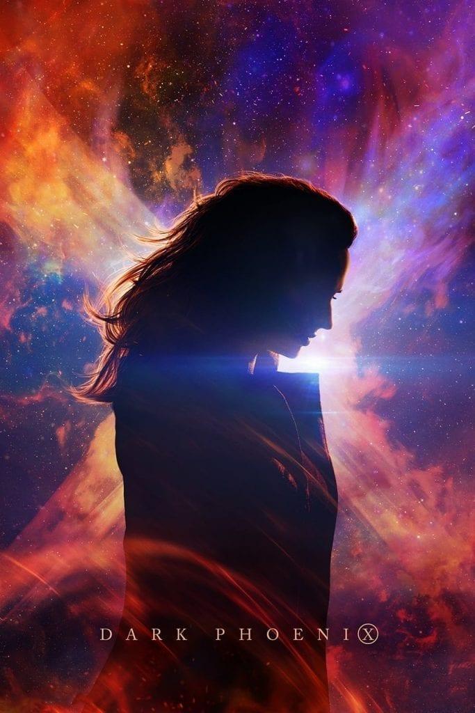 "Poster for the movie ""Dark Phoenix"""
