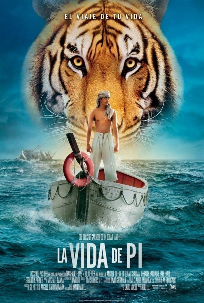 """Poster for the movie """"La vida de Pi"""""""