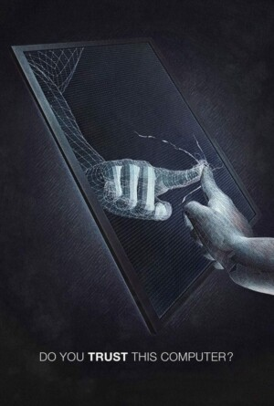 "Poster for the movie ""¿Confías en este ordenador?"""