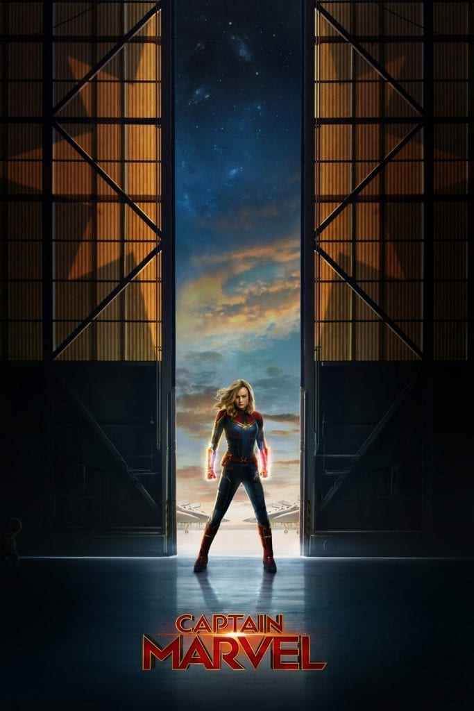 "Poster for the movie ""Capitana Marvel"""