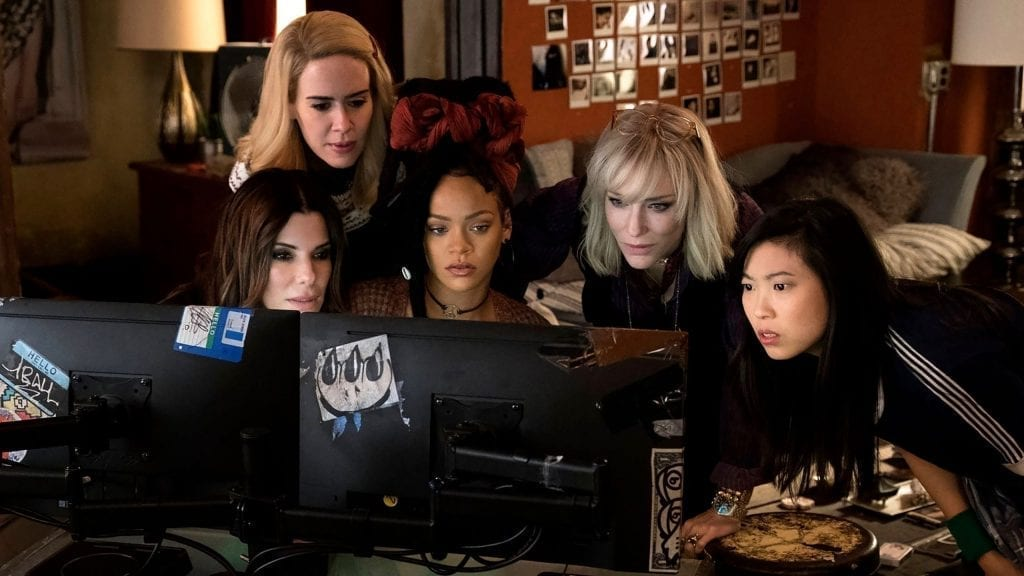 """Image from the movie """"Ocean's 8"""""""