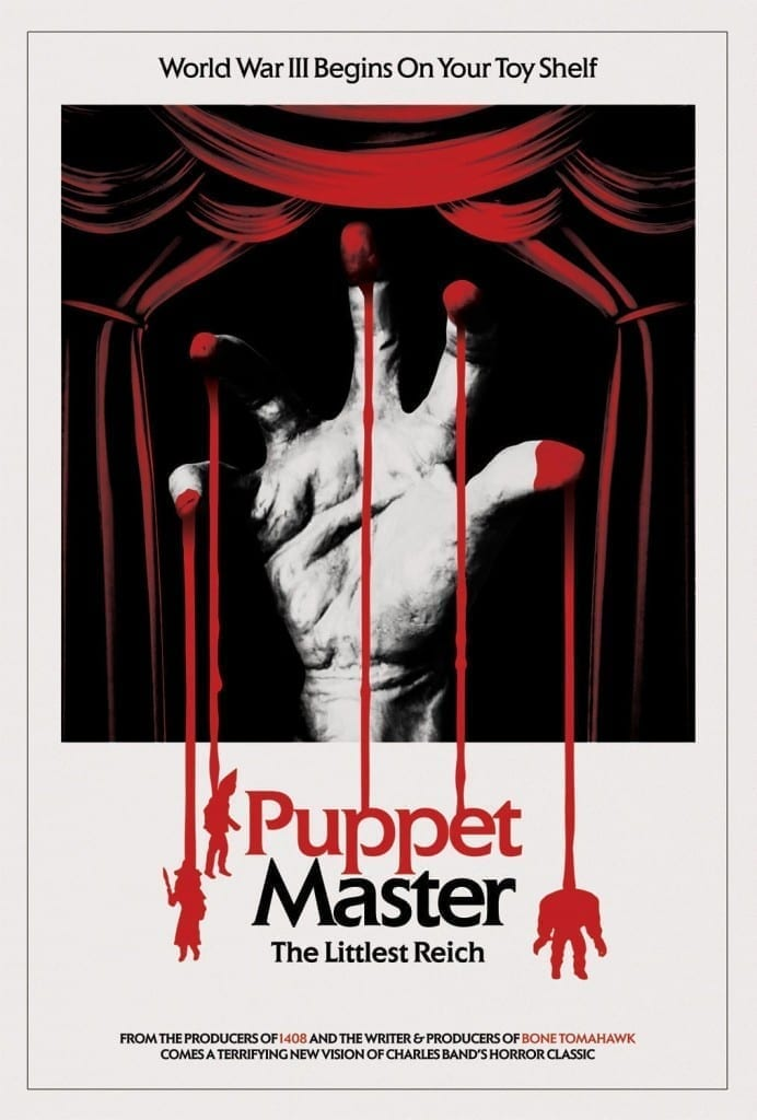 """Poster for the movie """"Puppet Master: The Littlest Reich"""""""