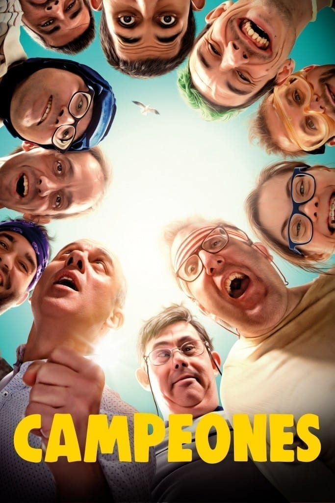 """Poster for the movie """"Campeones"""""""