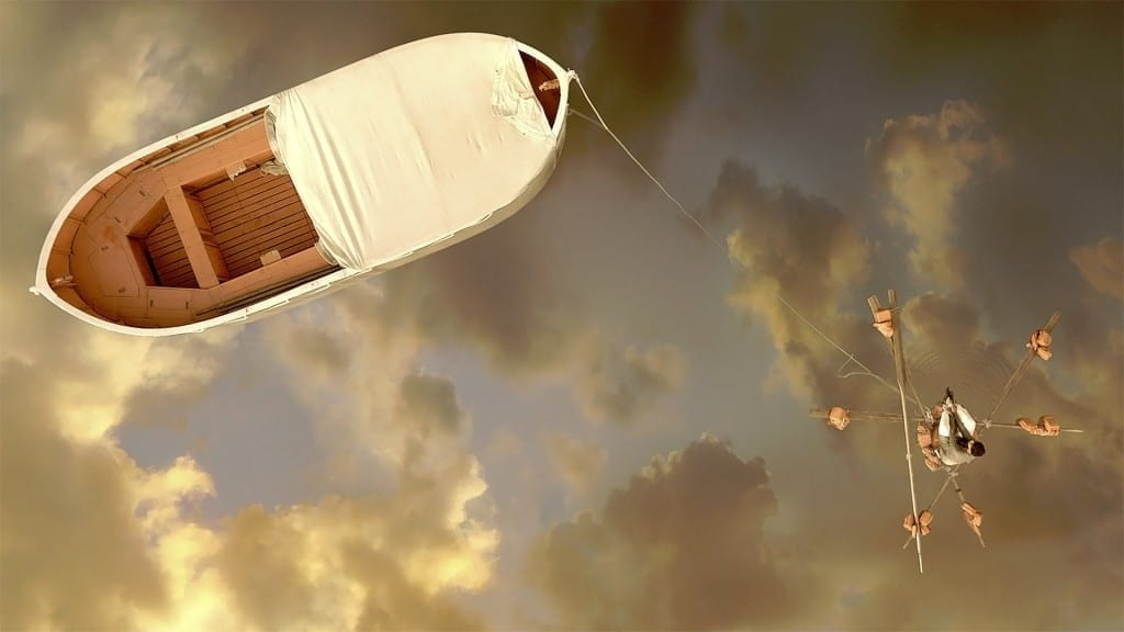 """Image from the movie """"La vida de Pi"""""""