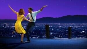 """Image from the movie """"La ciudad de las estrellas  (La La Land)"""""""
