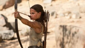 "Image from the movie ""Tomb Raider"""