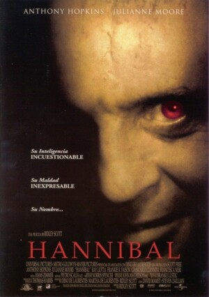 """Poster for the movie """"Hannibal"""""""