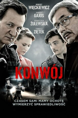 """Poster for the movie """"Konwój"""""""