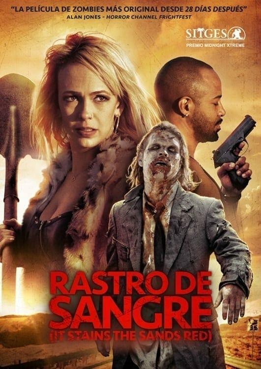 "Poster for the movie ""Rastro De Sangre"""