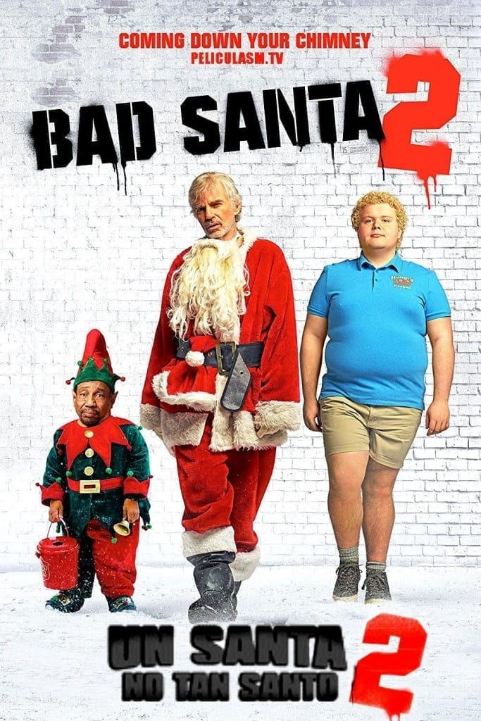 """Poster for the movie """"Bad Santa 2"""""""