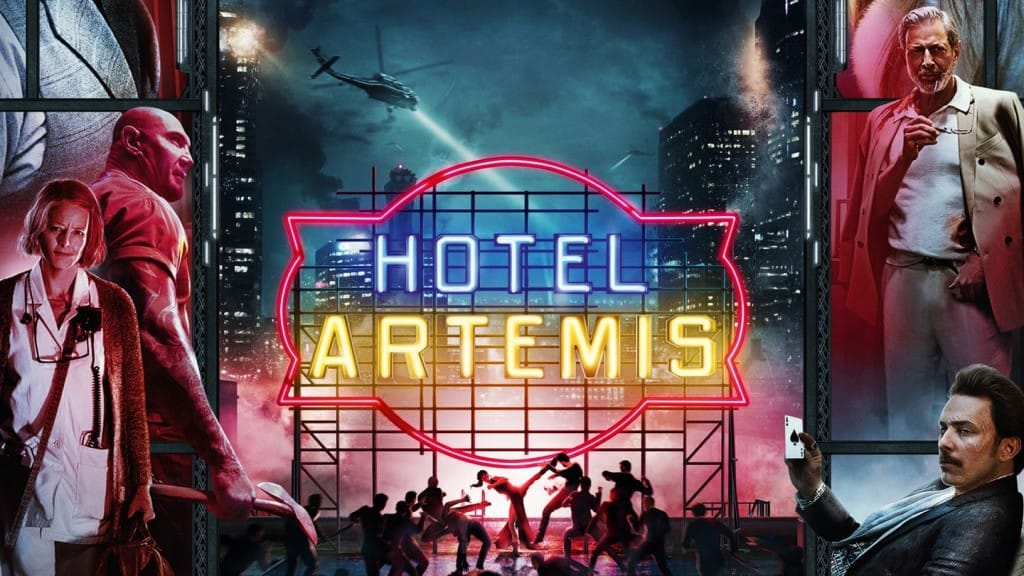 """Image from the movie """"Hotel de Criminales"""""""