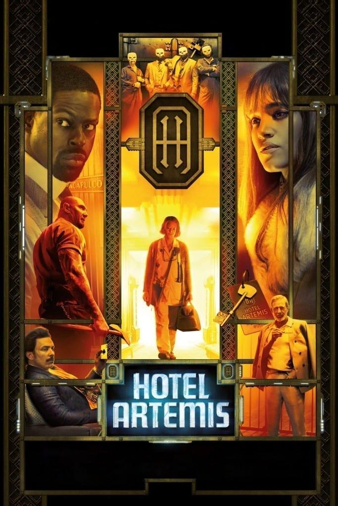"Poster for the movie ""Hotel de Criminales"""