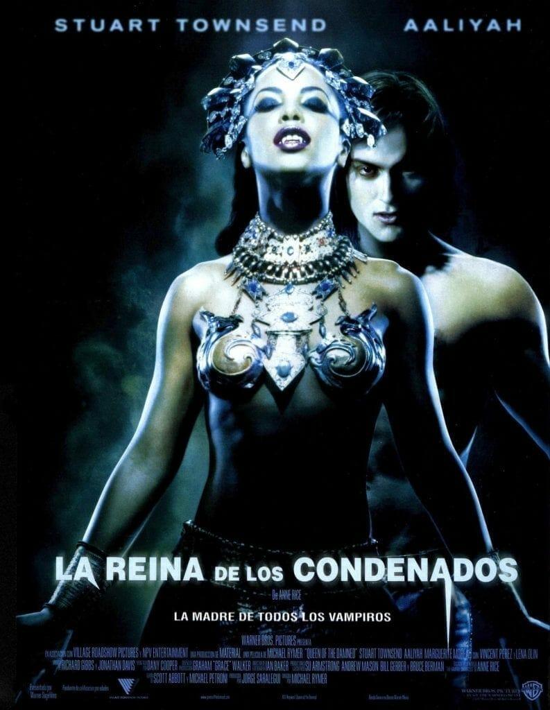 """Poster for the movie """"La reina de los condenados"""""""