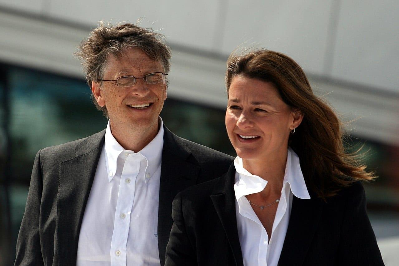 Bill Gates y su esposa Melinda Gates el 3 de junio de 2009.