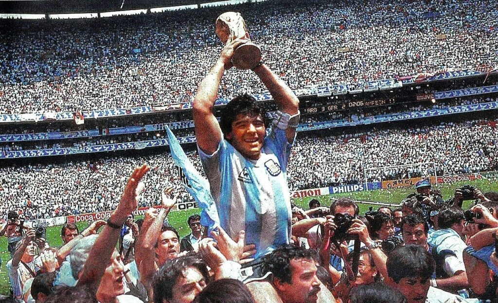 Maradona en México 86