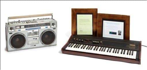 1538387579 Teclado Yamaha CP10 Electronic Piano y Radio Casete JVC modelo RC M70JW