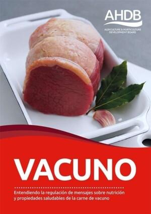 AHDB lanza una guía nutricional sobre carne de vacuno para promover un consumo saludable de carne roja