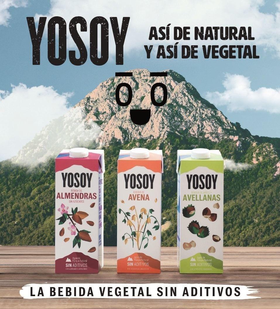 YOSOY incorpora la bebida de Almendras y renueva la imagen de su surtido