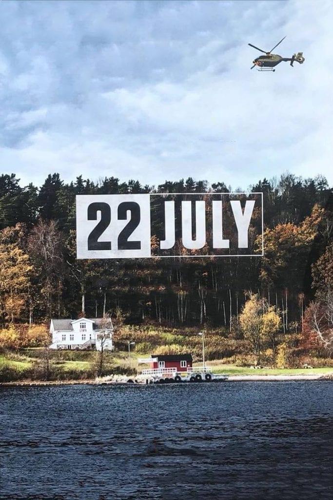 """Póster de la Película """"22 De Julio"""""""