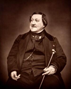 Rossini en 1865