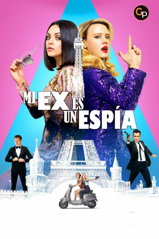 """Póster de la película """"Mi ex es un espía"""""""