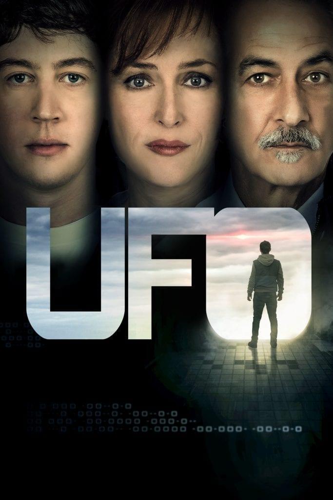 "Poster for the movie ""OVNI: No estamos solos"""