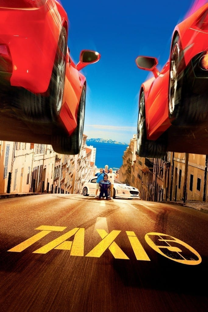 """Poster for the movie """"Taxi 5"""""""