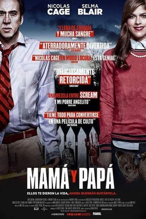 """Póster de la Película """"Mamá y Papá"""""""