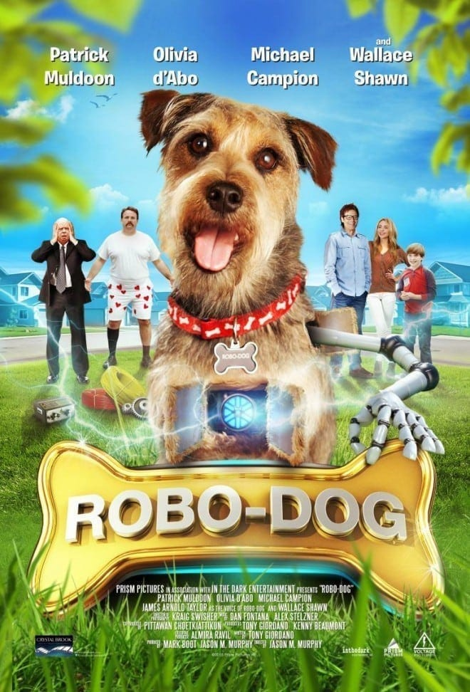 """Poster for the movie """"Robo-Dog"""""""