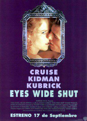 "Póster de la película ""Eyes wide shut"""