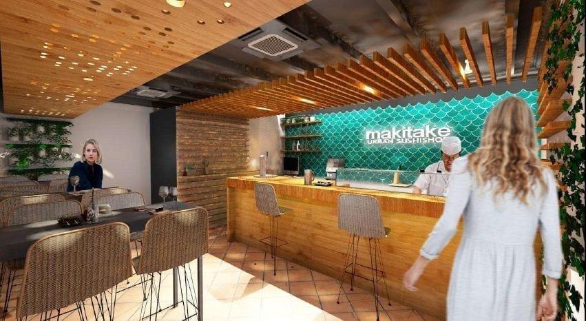 El restaurante japonés Makitake desembarca en Torremolinos
