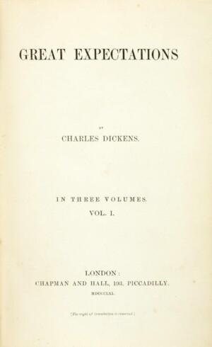 Grandes Esperanzas, de Dickens