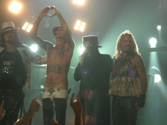 Mötley Crüe en Canadá