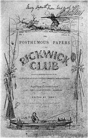 Los Papeles Póstumos del Club Pickwick, de C. Dickens