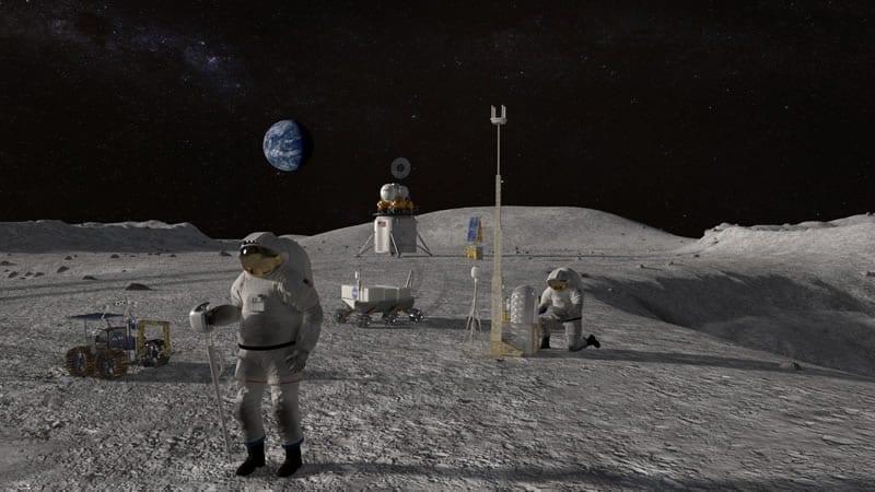 La NASA será la encargada de llevar a los astronautas estadounidenses a la Luna en los próximos cinco años. Image Credit: NASA