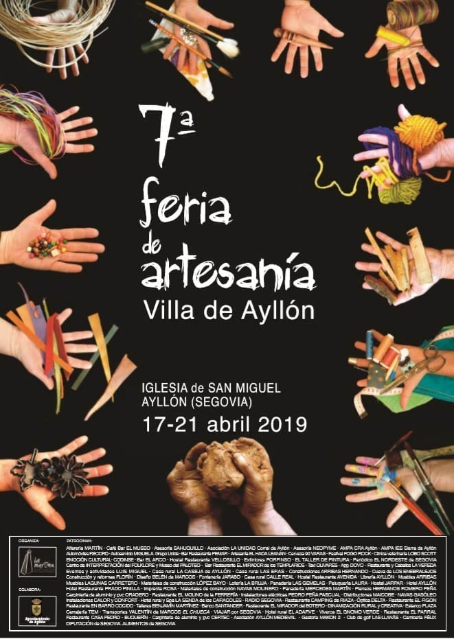 1554803693 Cartel Feria de Artesan a1554802009