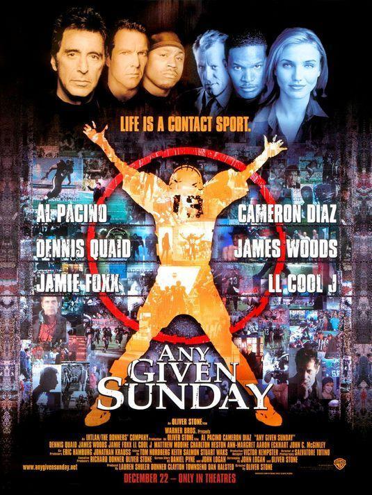 Un domingo cualquiera (1999), de Oliver Stone