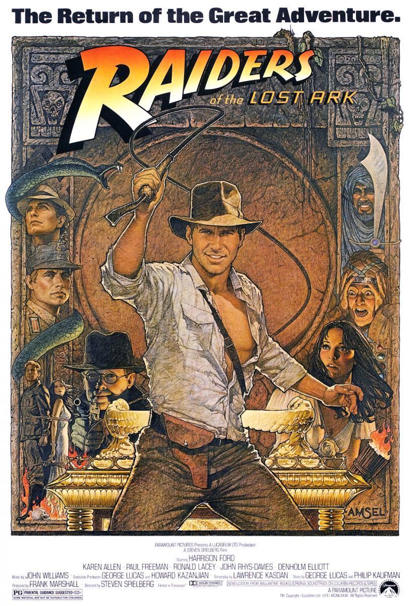 En Busca del Arca Perdida (1981), de Steven Spielberg